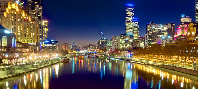 Melbourne-City-Night-river-lights-conference-2018